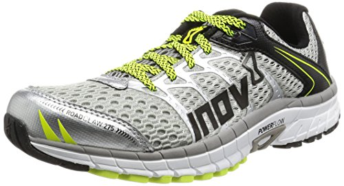 Inov-8 Road Claw 275 Silver Grey Neon Yellow 44