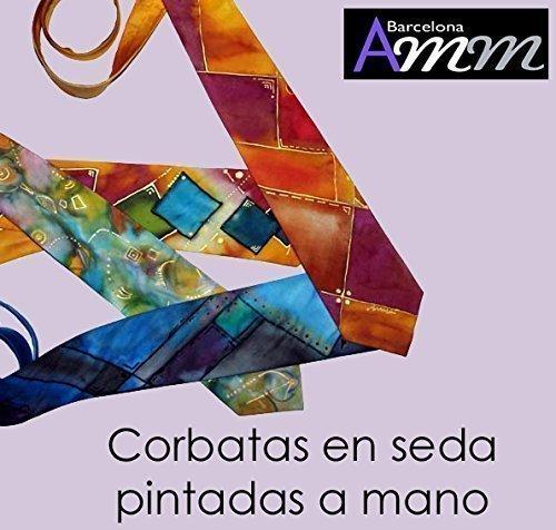 Corbata de Seda pintada a mano -: Amazon.es: Handmade
