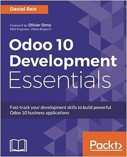 Buy Odoo 10 Development Essentials Book Online at Low Prices