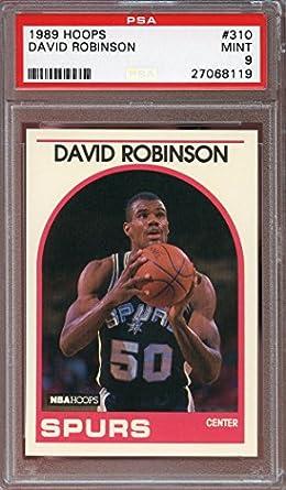 Amazoncom 1989 90 Hoops 310 David Robinson San Antonio