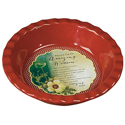 Amazing Woman Deep-Dish Pie Plate