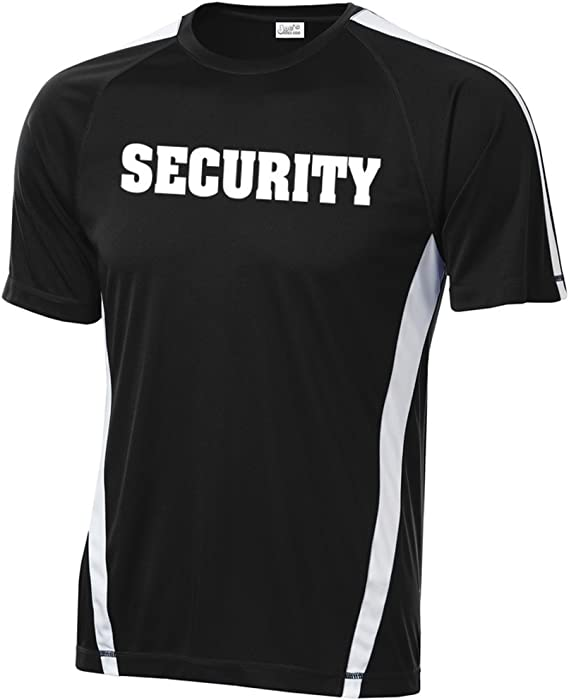 Guard Staff S to 5X Security Hoodie Uniform Black Pullover Sweatshirt