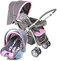 Travel System Reverse Cosco - Rosa