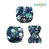 babygoal Baby Swim Diapers,Reusable Adjustable for