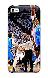 oklahoma city thunder basketball nba miami heat NBA Sports & Colleges colorful iPhone 5c cases WANGJING JINDA