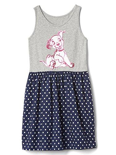 Gap Cotton Jersey - GAP Kids Girls' Disney 101 Dalmatians Mix-Fabric Dress - Size Large (10)