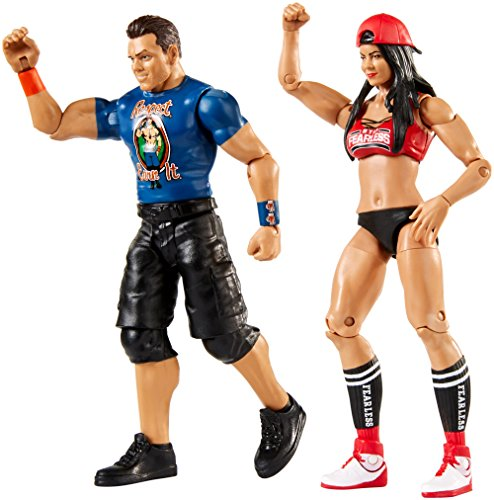 51gSufGPMiL - WWE-Series-51-the-Miz-Maryse-2-Pack-Action-Figure