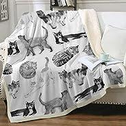 Sleepwish Cat Throws and Blankets