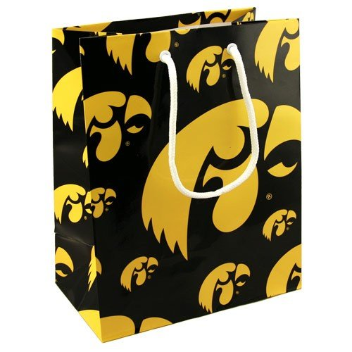 - Football Fanatics NCAA Iowa Hawkeyes Team Logo Gift Bag