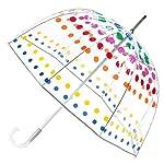 Totes Signature paraguas de burbuja transparente