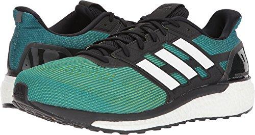 adidas Men's Supernova M Running Shoe, Slime/White/Hi-Res Blue, 13 M US by adidas