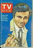 1972 TV Guide Mar 25 Peter Falk as Columbo