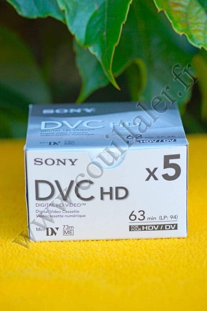 Sony DVM63 HD DVC Mini Tape - 5 Pack