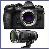 Olympus OM-D E-M1 Mark II Mirrorless Micro Four Thirds Digital Camera + Olympus M.Zuiko Digital ED 40-150mm f/2.8 PRO Lens