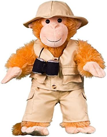 """B01M65MDS7 Safari Outfit Teddy Bear Clothes Fits Most 8""""-10"""" Build-A-Bear Buddies and Make Your Own Stuffed Animals 51gSx0-hZ9L"""