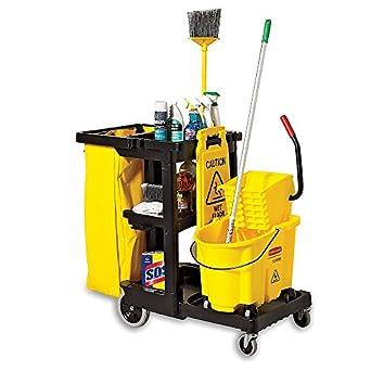 RUBBERMAID 6183 Bolsa de Golf, Resistente Amarillo de Repuesto de Calidad Comercial Vinilo Bolsa de