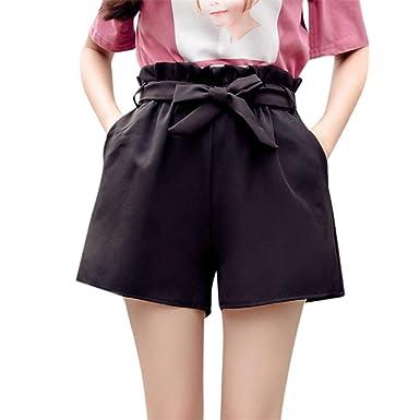 FELZ Pantalones Mujer Pantalones Cortos Mujer Pantalón de Verano ...