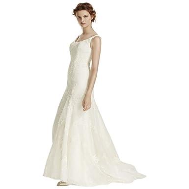 David S Bridal Sample As Is Venise Lace Tumpet Wedding