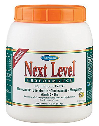 51gSyTAo0IL - Farnam Next Level Performance Equine Joint Pellet, 3.75-Pound