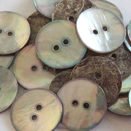 Used, Fancy & Decorative {23mm w/ 2 Holes} 12 Pack of Large for sale  Delivered anywhere in Canada
