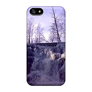 Waterfall In February Moth Case Compatible With Iphone 5/5s/ Hot Protection Case