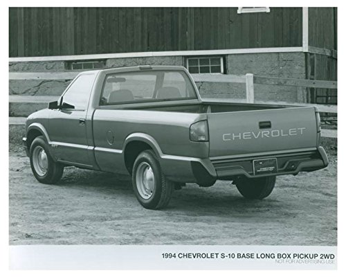 2wd Box (1994 Chevrolet S10 Base Long Box Pickup 2WD Truck Photo Poster)