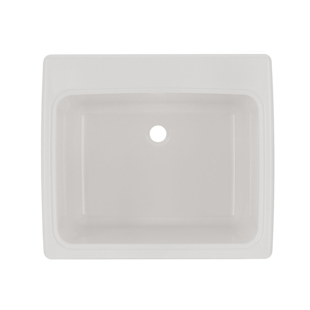 Swan SSUS1000.010 White Solid Surface Utility Sink by Swan