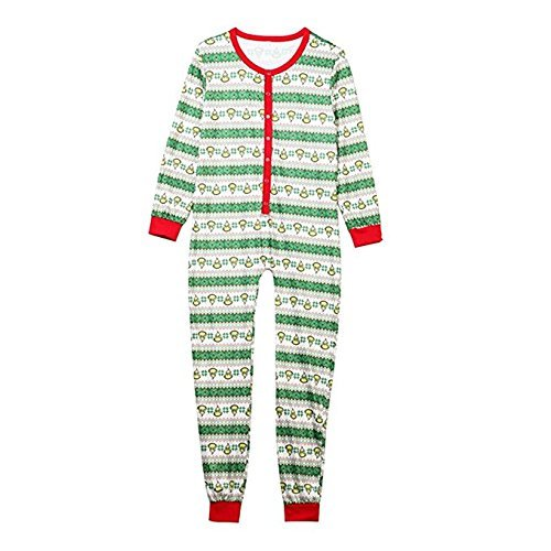 Family Matching Christmas Pajamas Set Kid Adult PJs Sleepwear Nightwear (XXL, Men) (Family Christmas Clothes)