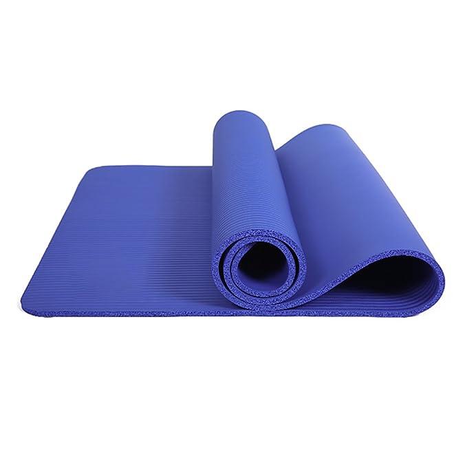 QFFL Estera de Yoga/Skid Fitness Mat/Plus Thick Plus Wide ...
