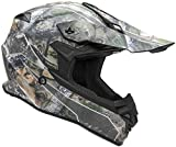 Vega Helmets VF1 Lightweight Dirt Bike Helmet – Off-Road Full Face Helmet for ATV Motocross MX Enduro Quad Sport, 5 Year Warranty (Skull Camo Graphic Large Unisex Adult)