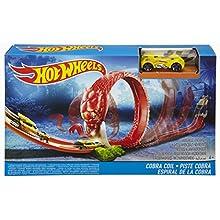 Hot Wheels Cobra Coil Track Set