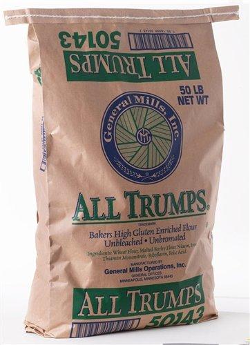 General Mills All Trumps High Gluten Flour - 50 lbs - General Flour Mills