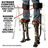 New (Straps Only!) Design Comfort Strap Drywall Stilts Leg Band Kit (COM-STRAP),My Comfort Universal Stilt Leg Strap
