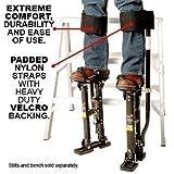 NEWEST Design Comfort Strap Drywall Stilts Leg Band Kit (COM-STRAP),My Comfort Universal Stilt Leg Strap