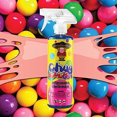 Chemical Guys AIR_221_16 Chuy Bubble Gum Premium Air Freshener and Odor Eliminator  (16 oz): Automotive