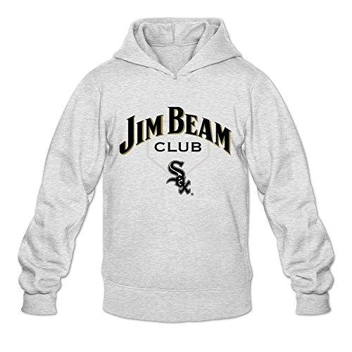 Men's Jim Beam Club Logo Hoodie Sweatshirt