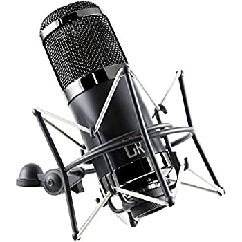 mxl cr89 premium low noise condenser microphone with shock mount and flight case. Black Bedroom Furniture Sets. Home Design Ideas