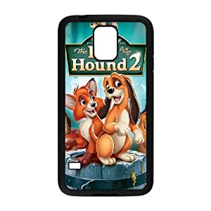 Samsung Galaxy S5 Cell Phone Case Covers Black Fox and the Hound Clear Phone Case Covers Unique CZOIEQWMXN19464