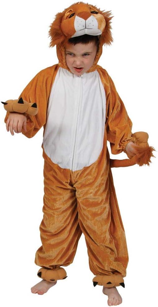 Kids Child Infant Toddler Lion Animal Zoo Jungle Fancy Dress Book Week Costume