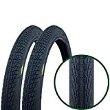 Pair of Fincci Tyre Tyres for BMX or Kids Childs Bike Bicycle 20 x 1.75 47-406