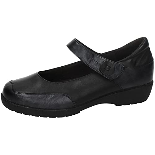 Made IN Spain 41504 Mocasines DE Piel SEÑORA Zapatos MOCASÍN Negro 38: Amazon.es: Zapatos y complementos
