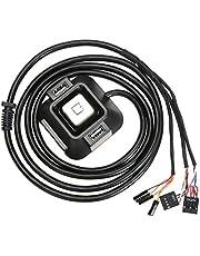 Desktop-PC Power Box On/Off Button Reset Button Verlengkabel Kabel met Audio Plug Dual USB-poort Zwart
