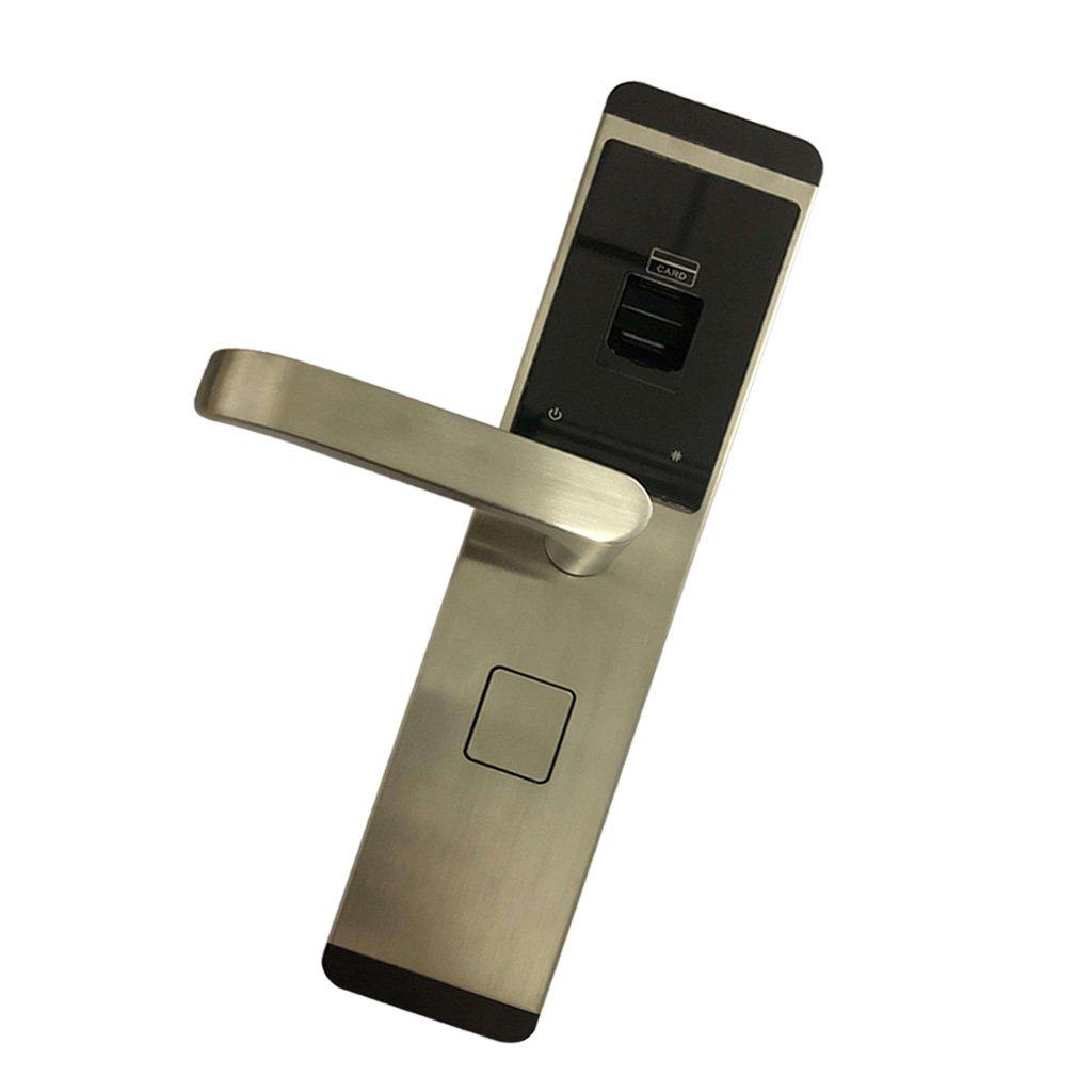 Baosity ホーム セキュリティ スマート 電子 キーレス デジタル ドアロック 全4色選べる 銀 B07BDHKK6G 銀 銀