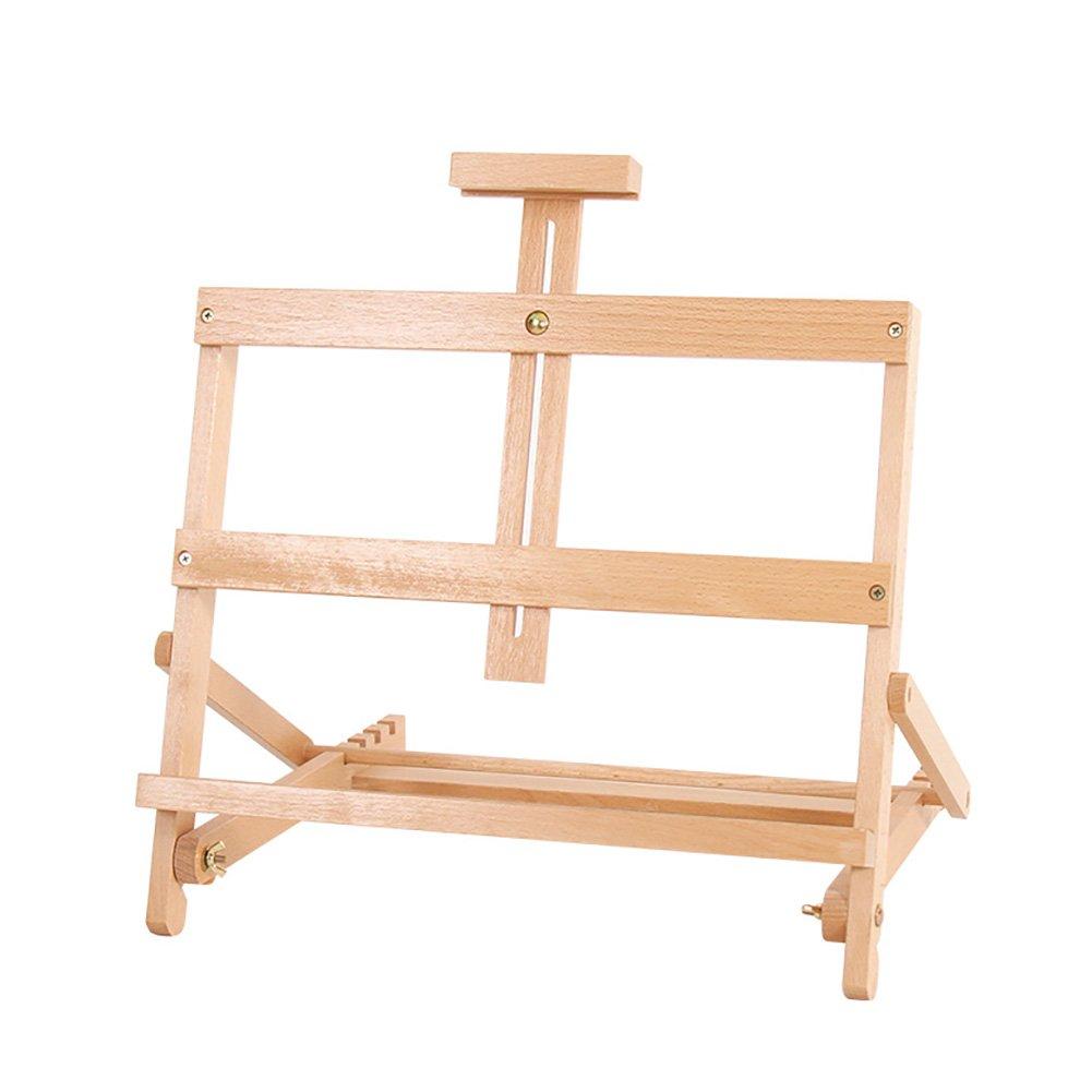 Staffelei Studenten-Kunst-Gestell-Schreibtisch-Aufzug-hölzernes Öl-Gestell-Werbungsplakat-Präsentationsständer-Hochzeits-Tisch-Stand (Farbe   Set of 1)