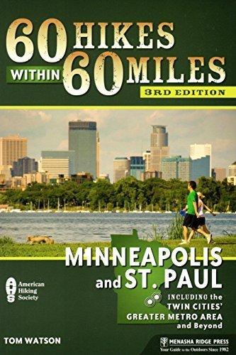 Twin Cities Bike Map (Hiking & Biking Minnesota Bundle by Tom Watson (Book) & American Bike Trails (Map) (2012-05-03))