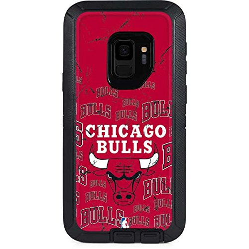 - Skinit Chicago Bulls Blast OtterBox Defender Galaxy S9 Skin for CASE - Officially Licensed NBA Skin for Popular Cases Decal - Ultra Thin, Lightweight Vinyl Decal Protection