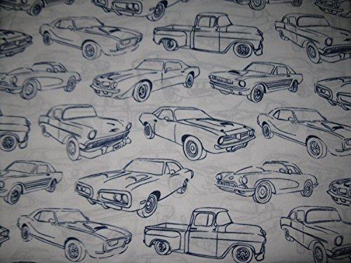 Max Studio Kids Cars and Trucks Twin Sheet Set