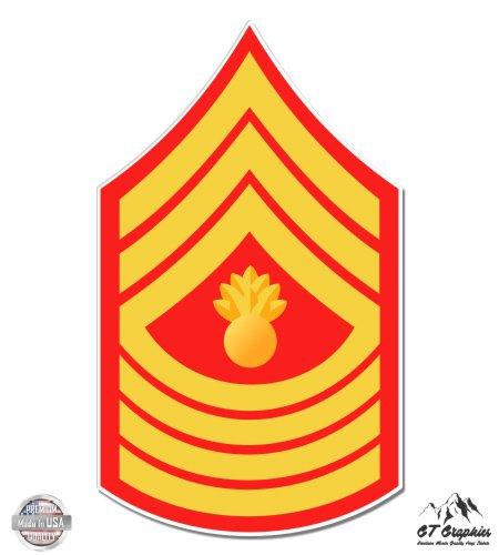GT Graphics USMC E9 Mgys Master Gunnery Sergeant Rank - 5