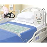 Bed & Chair Alarm with Long Term Sensor Pads, Ideal for Low Weight Patients - Plus Kerr Absorbent Protector Pads