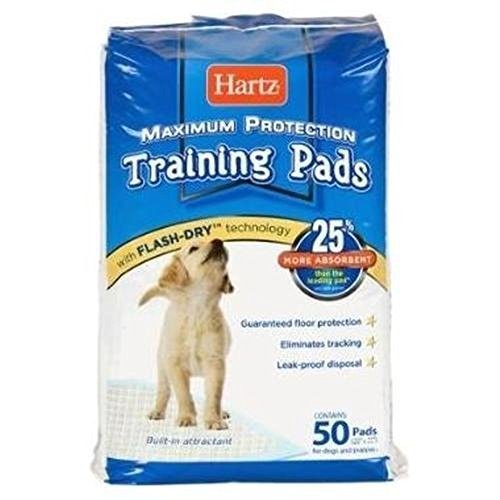 Hartz 04159 Dog Training Pads 50 Count